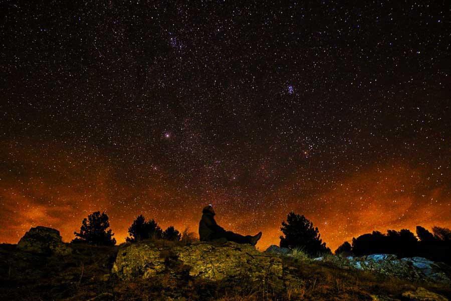 Caminhada Chuva de Meteoritos