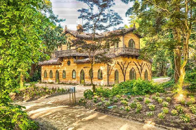 Visita guiada ao Chalet da Condessa e Parque da Pena em Sintra
