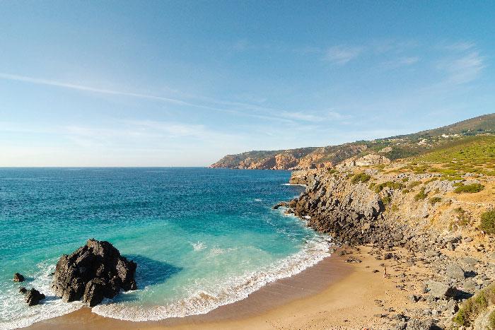 Praia do Guincho, Praia do Abano e Costa Atlântica